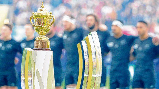 Objeto de deseo. La Copa William Webb Ellis está en poder de Nueva Zelanda.