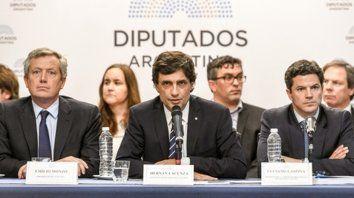 Ministro. Lacunza habló en el Congreso de la Nación.