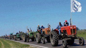 Tradición. Los tractorazos, símbolo de las movilizaciones federadas.
