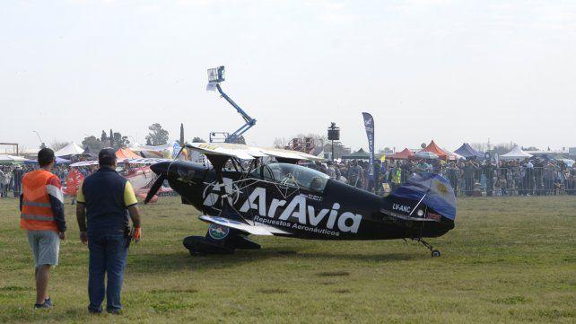 Rosario vuela, acrobacia aérea por excelencia