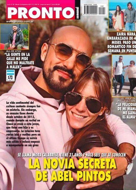 Trascendieron fotos de la pareja secreta de Abel Pintos
