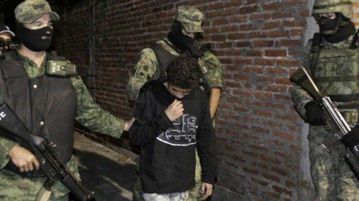 operativo. Un niño es detenido es Nuevo Laredo