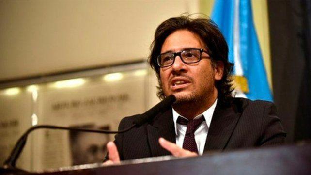 El ministro de Justicia y Derechos Humanos de la Nación.