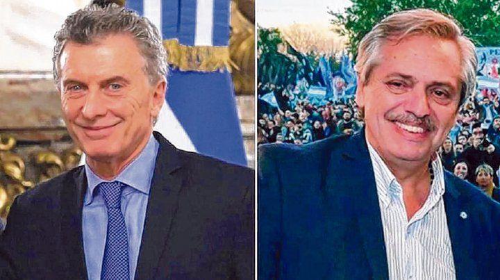 Riqueza. Macri y Fernández cumplieron con el trámite de detallar su estado patrimonial.
