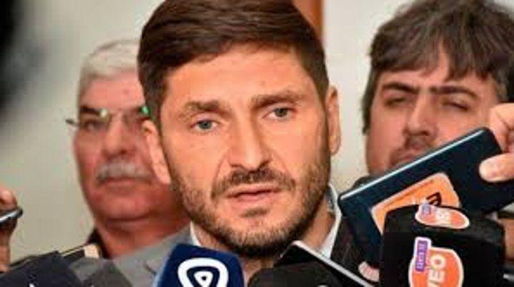 Ministro de Seguridad Maximiliano Pullaro.