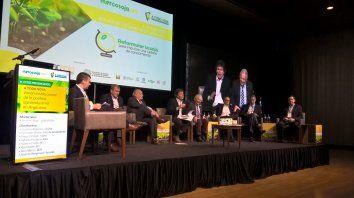 Programa. En el congreso A todo soja. representantes de la agroindustria expusieron sus reclamos estratégicos.