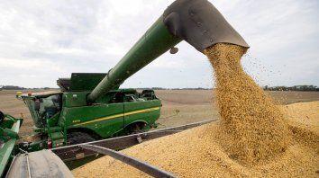 Salvataje. El rebote del sector agropecuario tras la fuerte sequía impulsó los datos del PBI, antes de las Paso.