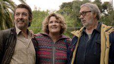 Trío en crisis. Darín, Llinás y Brandoni, en La odisea de los giles.