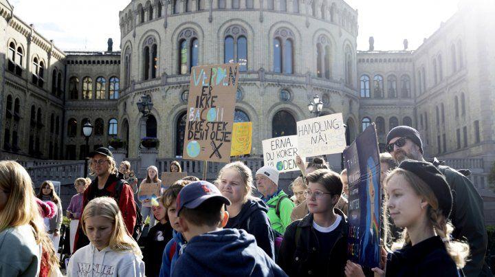 Huelga global por el cambio climático