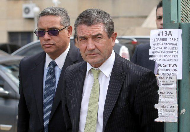 El jefe de la Policía Federal Argentina (PFA), Néstor Roncaglia.