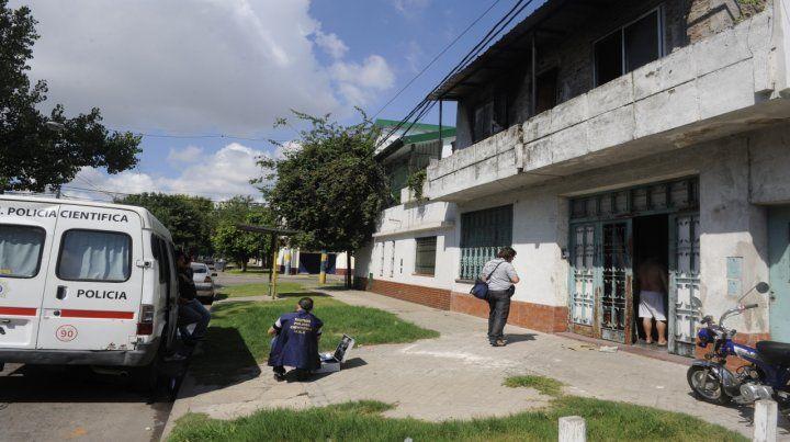 Tablada. Checho Alcaraz fue asesinado de 8 puñaladas en febrero de 2014.