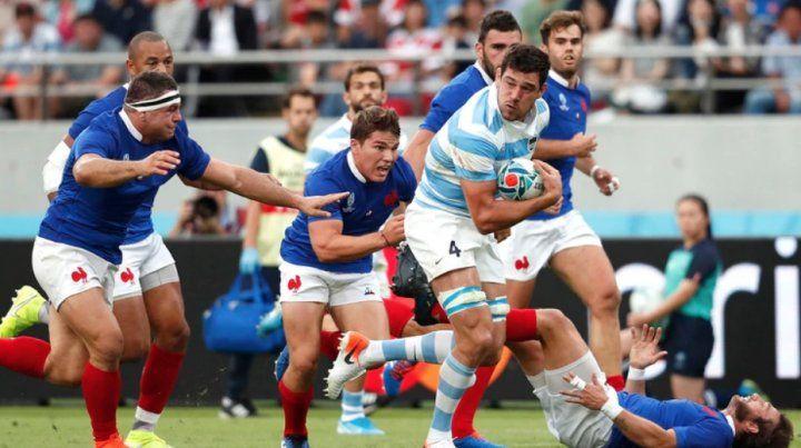 Argentina no pudo contra Francia en su debut en el Mundial en Japón.