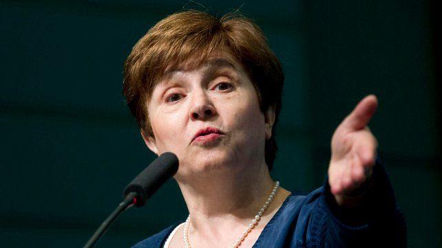 Kristalina Georgieva fue electa al frente del FMI. Ayer mismo se reunió con Hernán Lacunza.