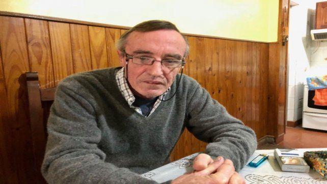 En su casa. Hugo Tognoli había recuperado la libertad el 7 de junio de 2018.
