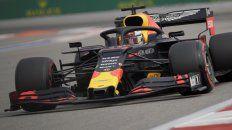Un gran toro. El Red Bull de Verstappen será hoy el principal auto a vencer en Rusia.