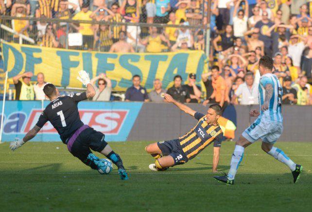 Central sumó un punto ante Lanús en su séptimo empate consecutivo