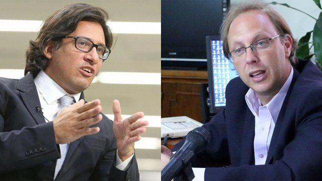 Dos miradas. Garavano (Justicia nacional) y Saglione (Economía provincial) evaluaron la decisión de la Corte.