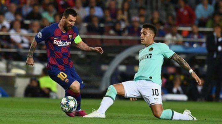 Leo conducción. Messi