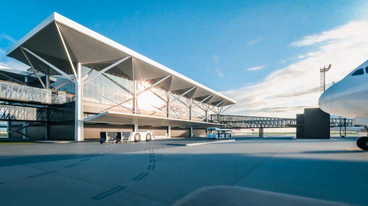 Un proyecto para el aeropuerto de Rosario fue premiado por la Bienal de Arquitectura de Buenos Aires