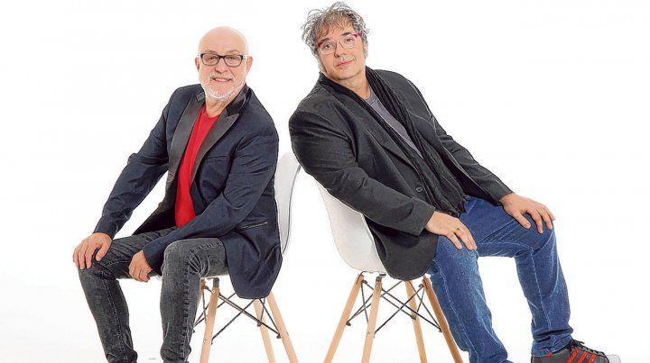Una dupla que no se detiene. Juan Carlos Baglietto y Lito Vitale grabaron por primera vez en 1991 y siguen tocando. Del rock al tango y la Trova Rosarina.