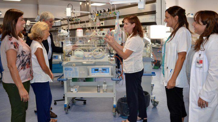 La directora del hospital dijo que se llevó a cabo un seguimiento de la pequeña paciente.