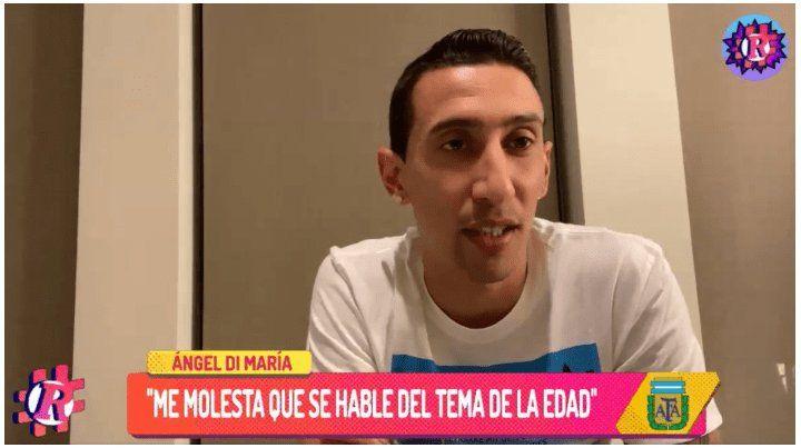 Di María habló de la pelea con Icardi y bancó a Messi