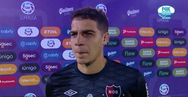 Alan Aguerre fue la figura del partido. (Foto: captura de video)