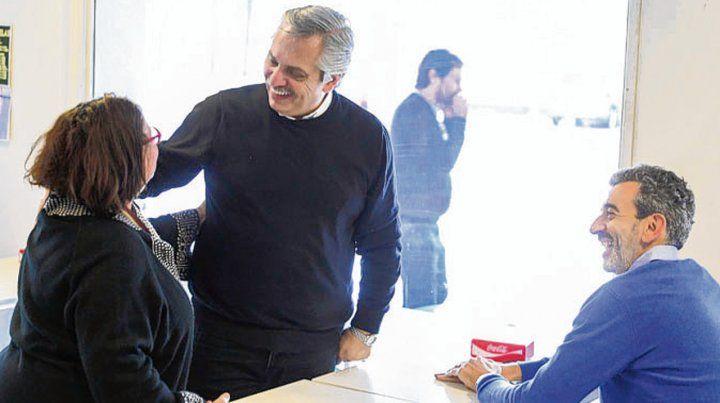 Fernández se mostró públicamente con Florencio Randazzo.