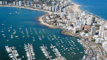 Glamour. Punta del Este, en Maldonado, el principal destino que ofrece el país charrúa.