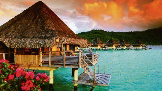Paraíso. Tahití es un verdadero reino vegetal