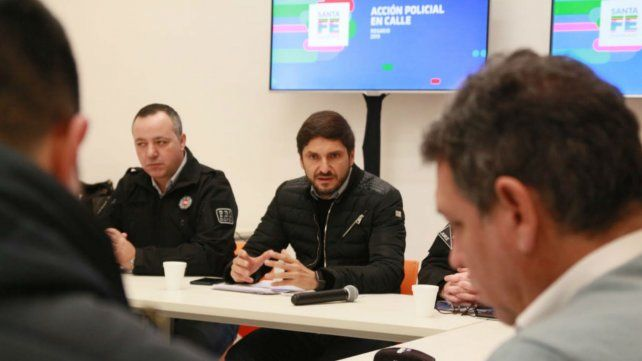 El ministro Pullaro difundió las estadísticas de homicidios en el departamento Rosario.