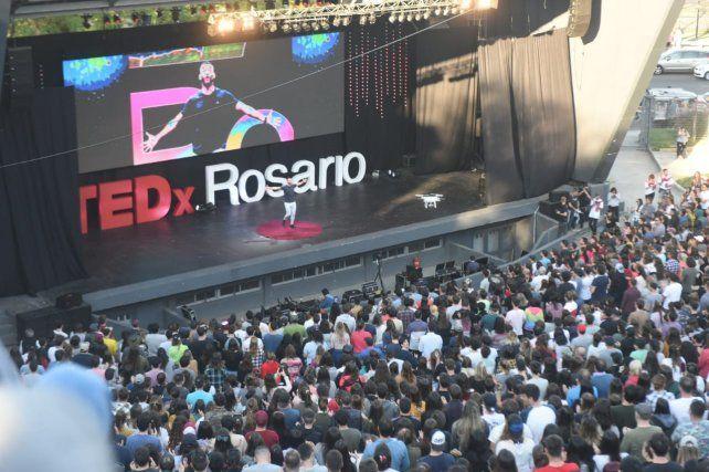 Notable convocatoria para celebrar los 10 años de TEDxRosario
