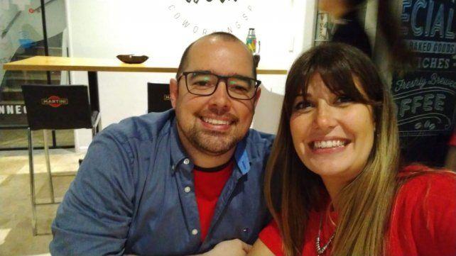 Creadores. Esteban Delgado y Victoria Méndez