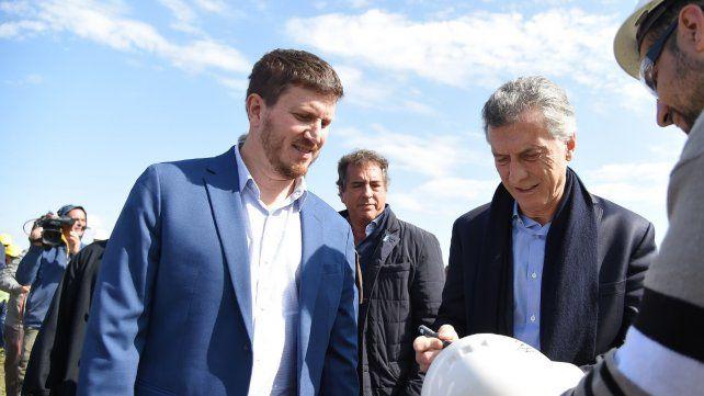 Angelini junto a Macri