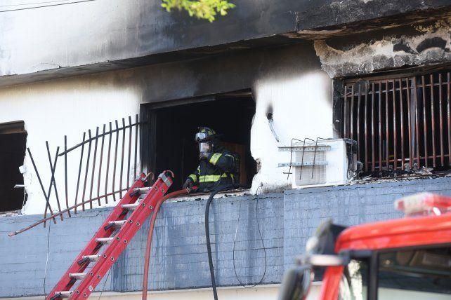Identificaron a la pareja que murió en el incendio de barrio Parque
