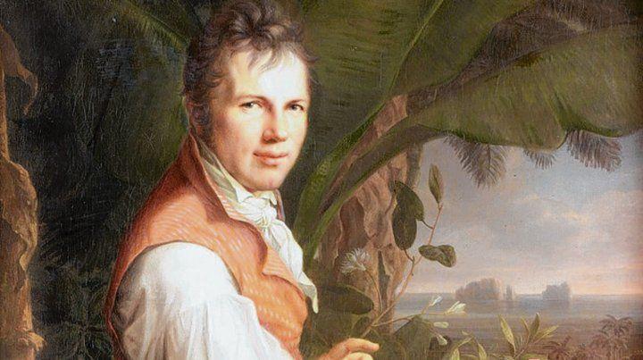 Escribiendo. Humboldt fue un pensador universal.
