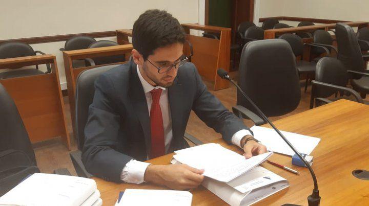 El juez Leandro Lazzarini.