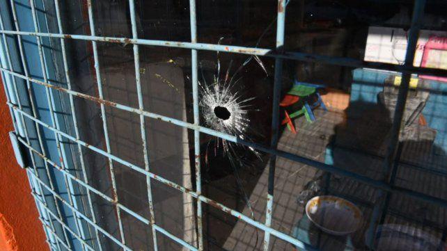 Ayer a la tarde, el ataque fue en Grandoli al 3900 donde vive Horacio Yianotti.