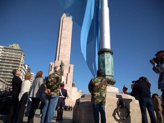 La intendenta Mónica Fein participó del acto por el Día de la Virgen del Rosario en el Monumento.