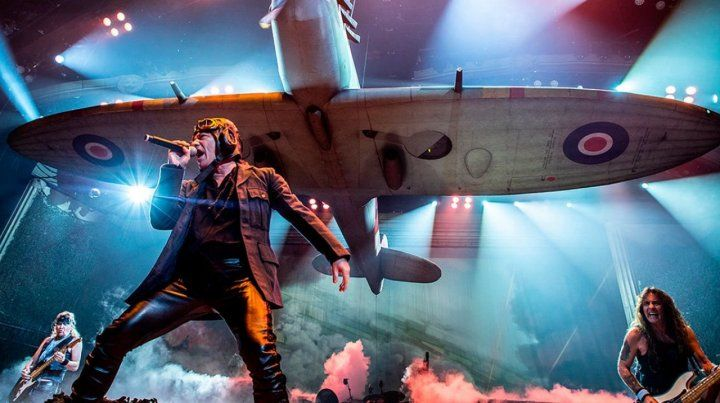 Diputados declaró visita de honor el show de Iron Maiden en Buenos Aires