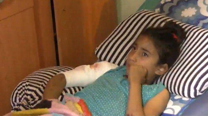 Un rottweiler atacó a una nena de nueve años en Capitán Bermúdez