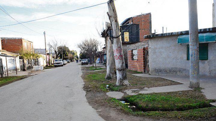 barrio godoy. Brian fue asesinado en Méndez y Deán Funes en 2016.