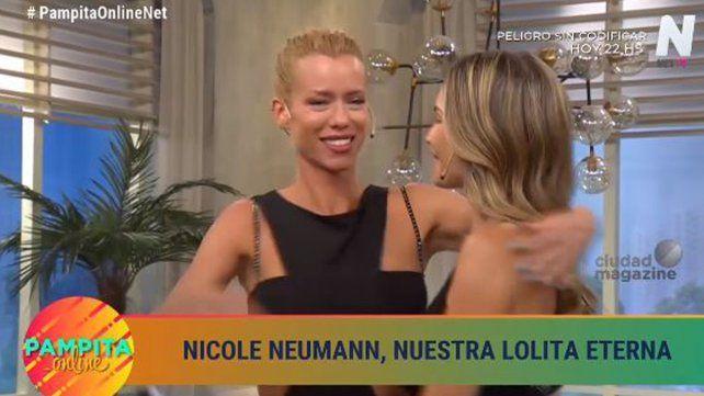 Nicole estuvo en el programa de Pampita pero no hubo tensión