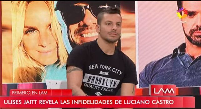 Ulises Jaitt habló sobre la tercera en discordia entre Luciano Castro y Sabrina Rojas