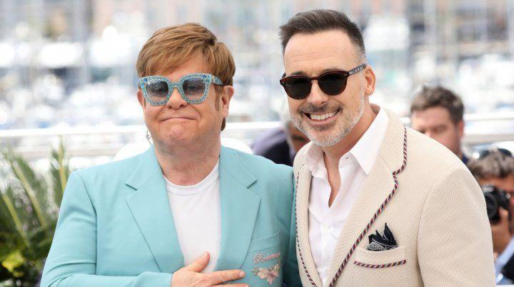Presente feliz. Elton John y su marido