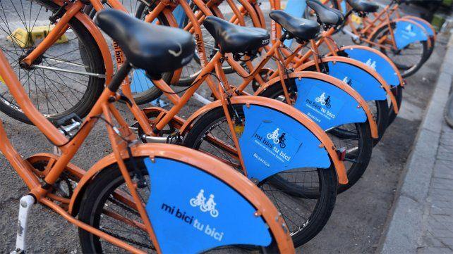 Las bicicletas públicas registraron más de 4 mil viajes en un solo día