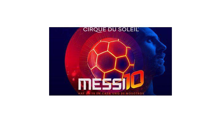 Cirque du Soleil presenta en Barcelona Messi 10