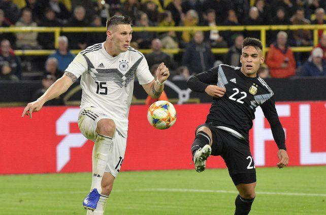 Argentina empató con Alemania tras ir perdiendo por dos goles
