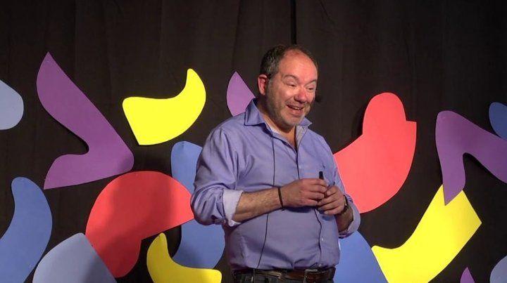 Disertante. Javier Artigas fue uno de los 13 oradores de las charlas Tedx que se realizaron en el anfiteatro Humberto de Nito.
