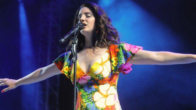 Lana del rey, otra de las estrellas que darán brillo al Lollapalooza en San Isidro.
